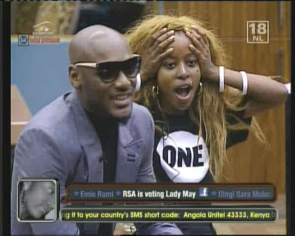 2Face Pays Surprise Visit To BBA Stargame Housemates, Calls Them Celebs