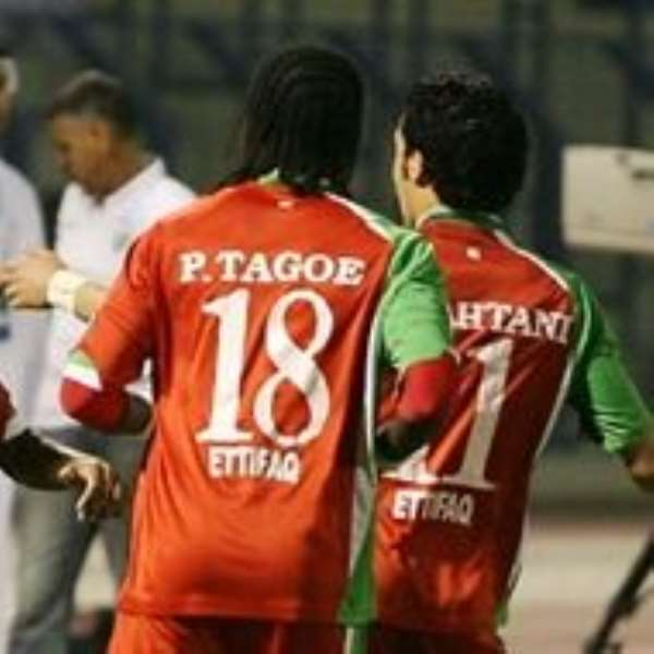 Tagoe scores to stay top in Asia
