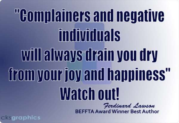 Develop An Attitude Of Gratitude And Stop Complaining