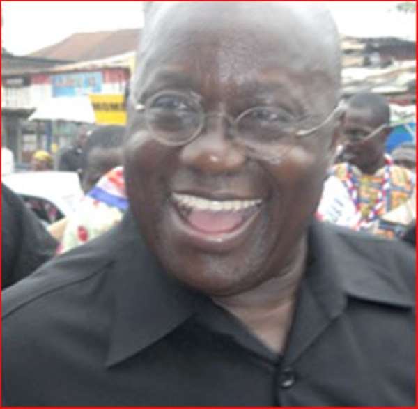 Happy Easter to Papa J and Nana Akuffo-Addo