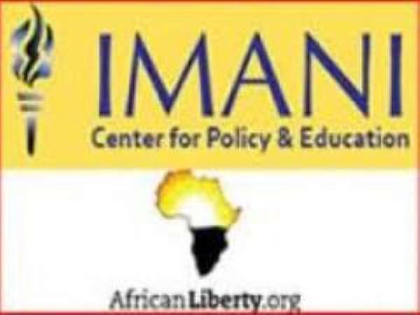 Imani & Ghana/africa's Ngos Cannot Bite The Hands That Feed Them