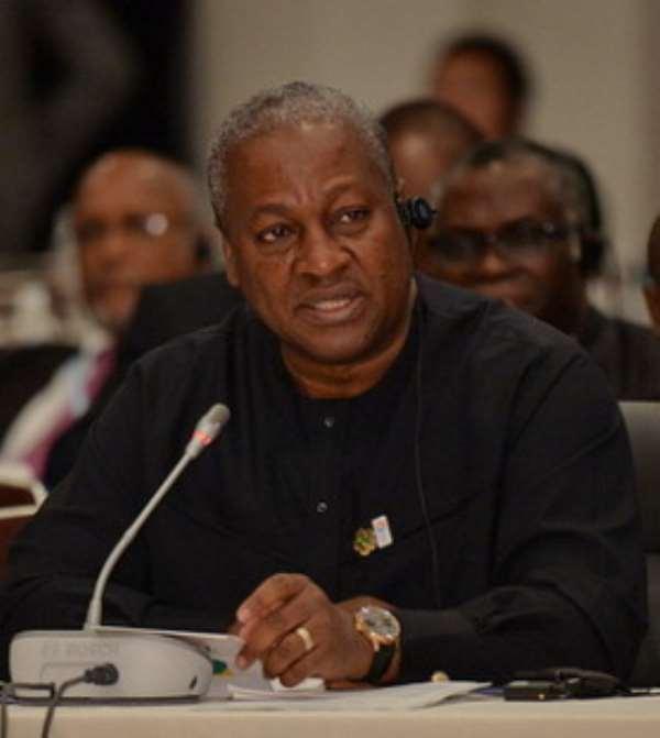 President Mahama berates wayward media