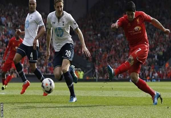 Liverpool thrash Tottenham 4-0 to go top of EPL
