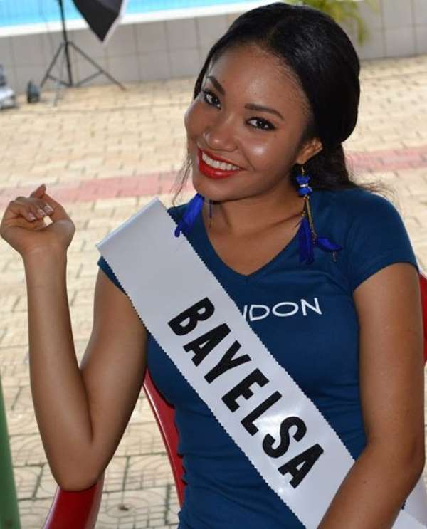 2013 MBGN Winner; Anna Ebiere Banner, Heads To Indonesia For The Miss World Pageant!!!!!