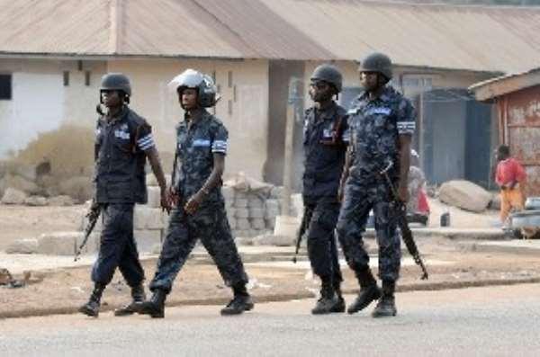Sokoban builds police post