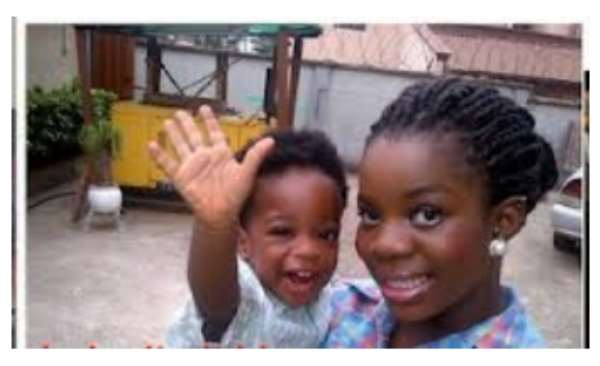 PICS: Wiz Kid's Alleged Baby Mama And Son