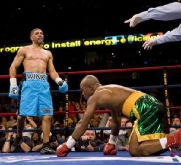 Bad Day For Ghana Boxing