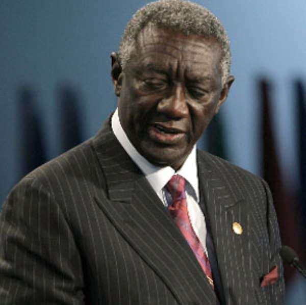 John Kufuor Unwittingly Exposes John Mahama
