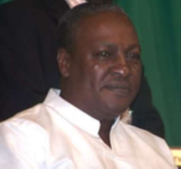 President John Dramani Mahama stands accused in Mills death.