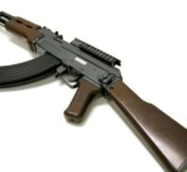 75 Guns Confiscated In Upper West