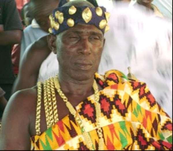 Bribery Rocks Brong Ahafo House Of Chiefs