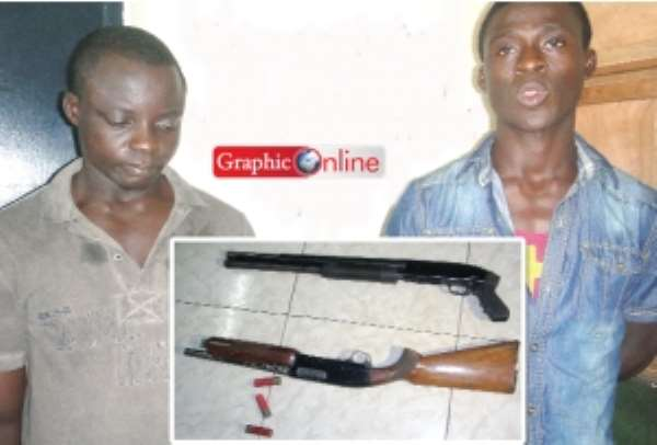 Man arrested for allegedly training armed robbers