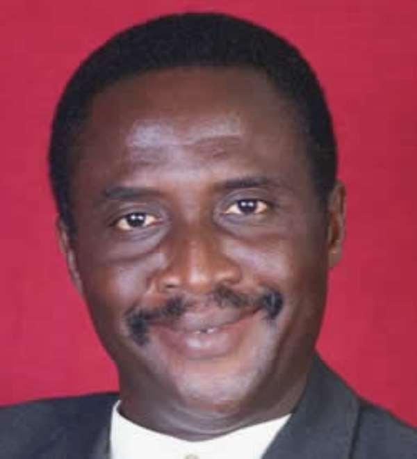 Michael Teye Nyaunu, MP for Lower Manya Krobo