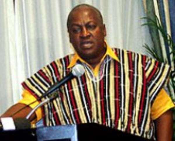 Mahama had no hand in Ghana's economic woes: Send him back to Jubilee House!