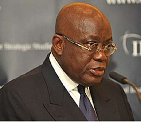 Gbedemah's Silver Bullet Shatters Nana Addo's Pack Of Lies