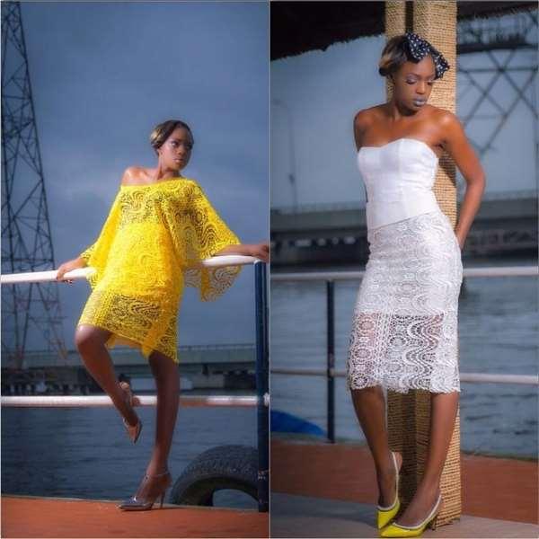 Beverly Osu Headlines Celebrity Shoot For Nigerian Designer [Pictures]