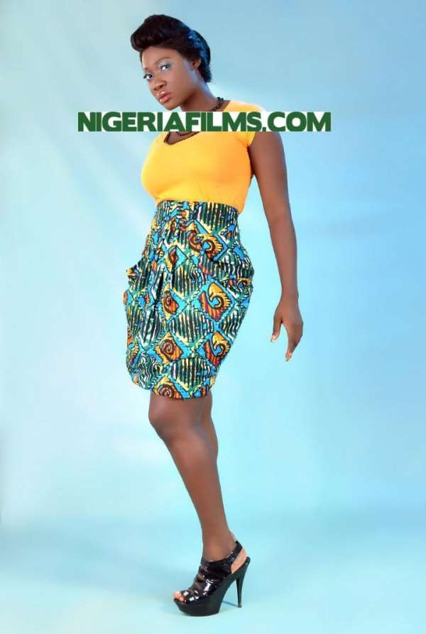 Mercy Johnson all the way