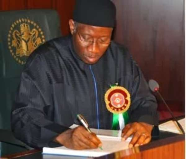 Jonathan Approves Sack Of 2 Judges
