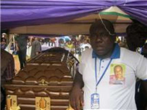 REPORT OF THE CHAIRMAN OF ASHLEY NWOSU BURIAL COMMITTEE