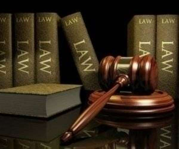 Court Gavel + Law Books