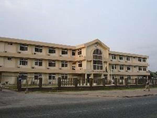 Korle - Bu Hospital Entrance