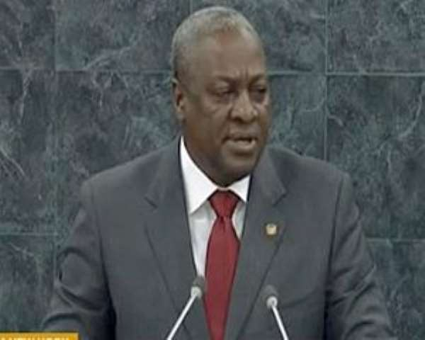 Mahama indeed resourced the police adequately and recorded no crime!