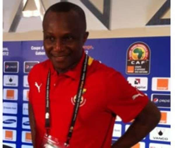Ghana Coach James Kwasi Appiah
