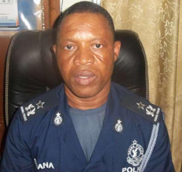 Chief Supt. Issah AhmedYakubu