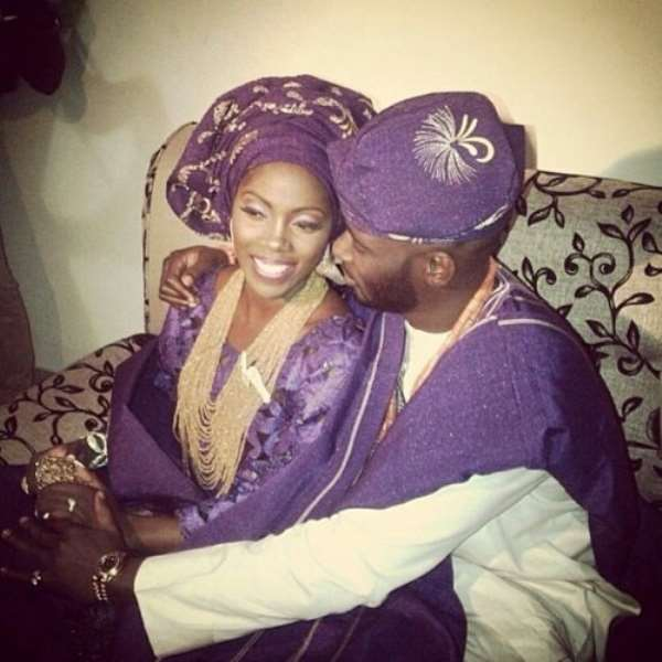 Tiwa Savage And Tee Billz Are Finally Tying The Knot Today [Photos]