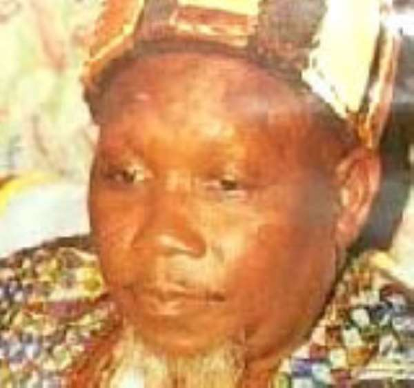 The Late Ya Na Yakubu Andani whose murder has created a bitter chieftaincy dispute between the Abudus and Andanis