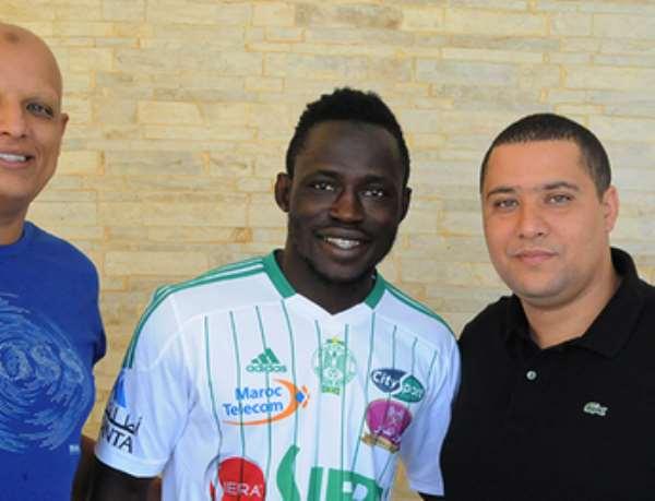 Yakubu Mohammed could make Raja debut this weekend