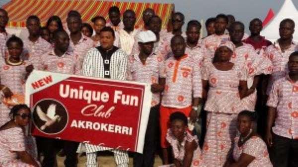 Don't Let Partisanship Stall Your Development—Yammin Tells Akrokerri Youth