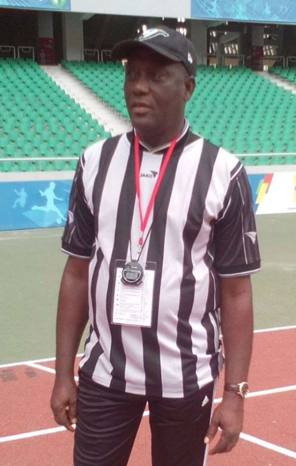 Anslem Nyavadzie named coach of the year by Athletes Association
