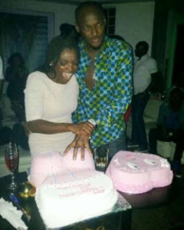 Pictures From. Annie Macaulay's Birthday Party With 2Face