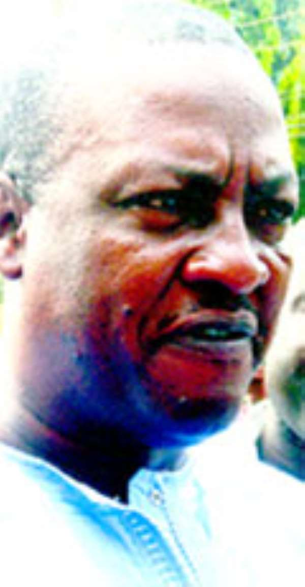 Mr. John Dramani Mahama, Vice President