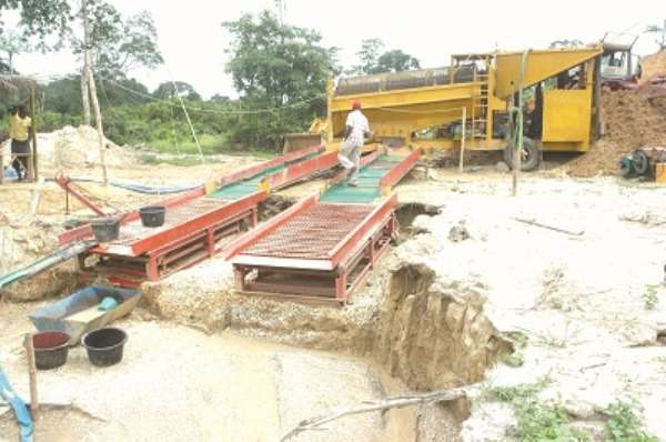 'Galamsey' operators back to vocation