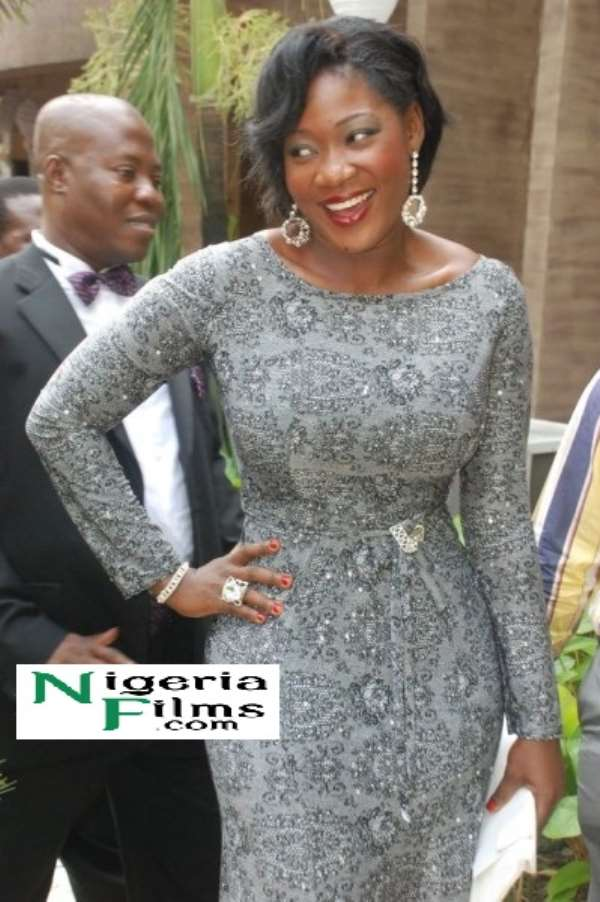 Tongues wag as Mercy Johnson steps out twice without hubby