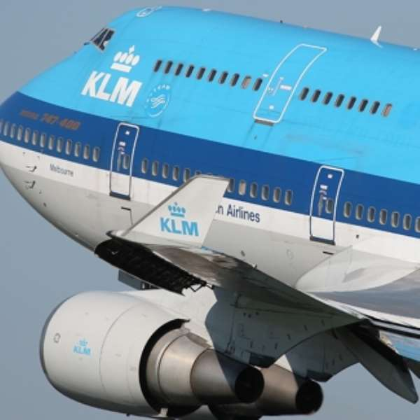 KLM says passengers will be rebooked on other flights on later dates or will be given refunds