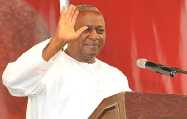 Is Mahama Now Blaming God For His 2016 Election Defeat?