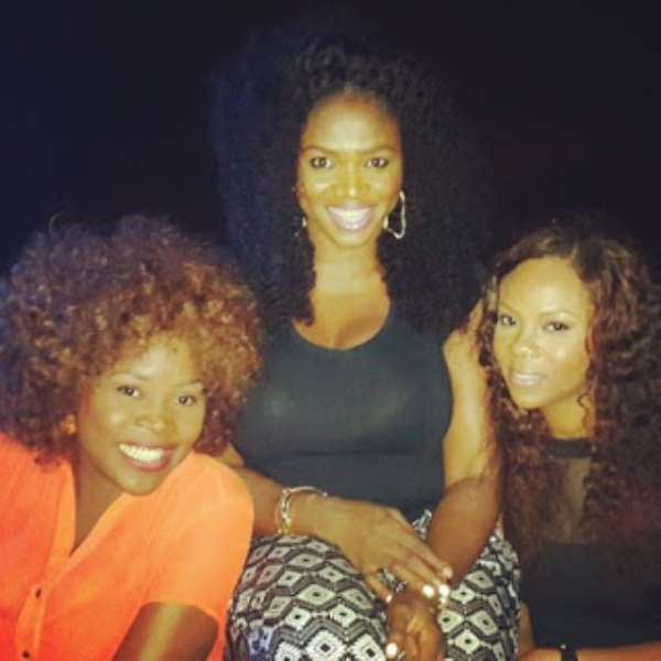 Top Female Stars Gather For Waje At 33