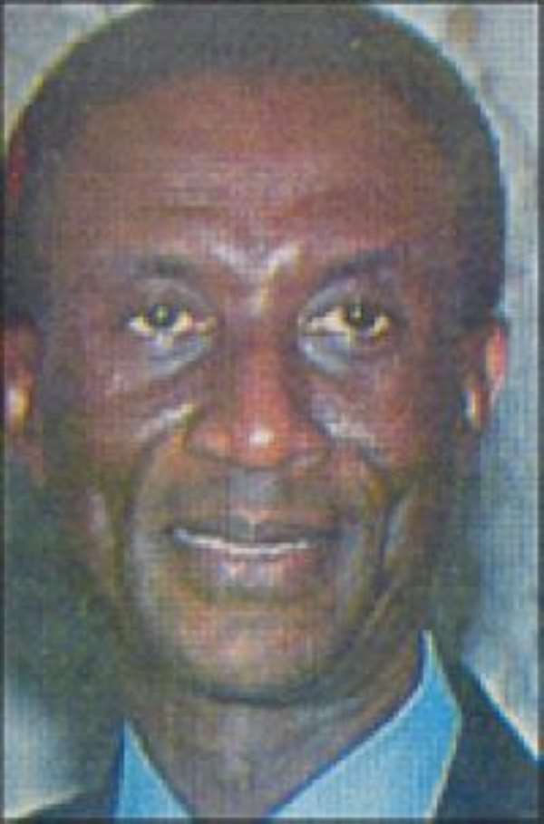 The murdered GCB MD, Roko Frimpong