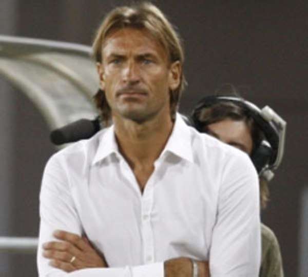 Zambia coach Renard Herve