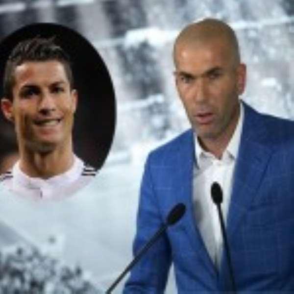 Real Madrid Forward Staying – Zinedine Zidane