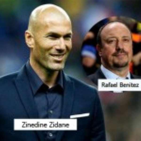Zinedine Zidane Replaces Rafael Benitez As Real Madrid Coach