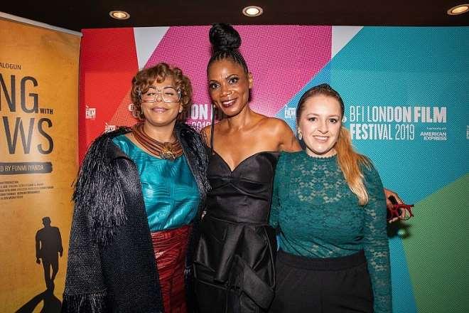 Nana Otedola, Funmi Iyanda & Aoife (film Director) (2)