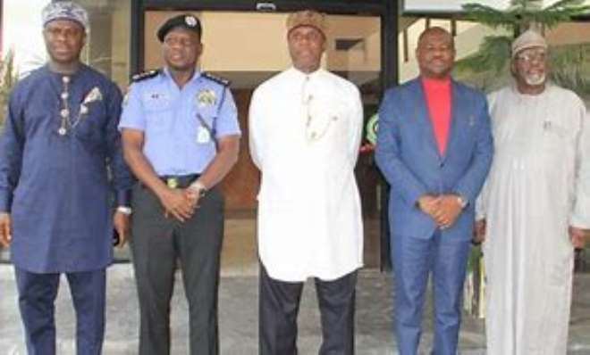 Amaechi, Wike And Dap With Dss