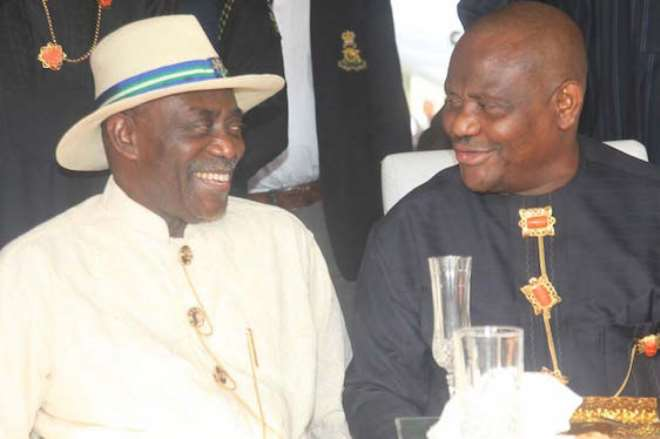 H. E. Odili And Wike