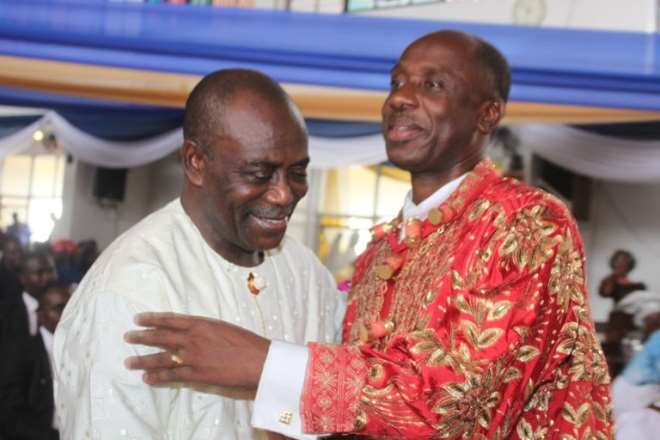 H.e. Odili Peter And Amaechi