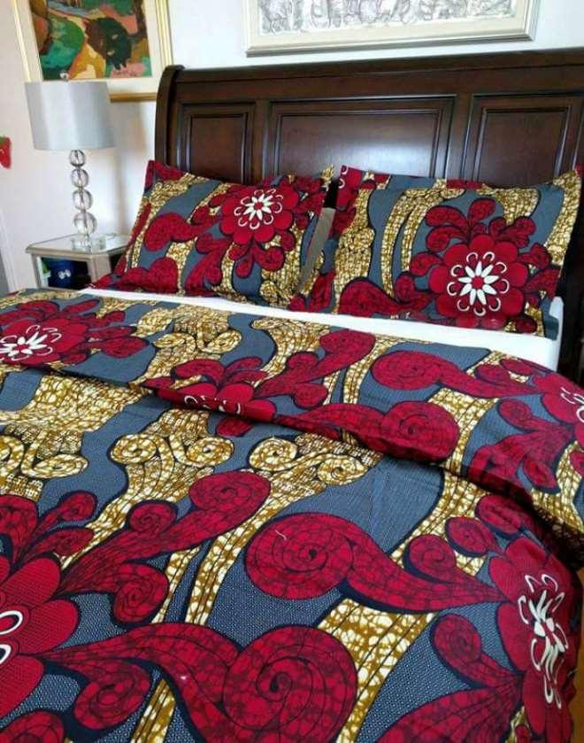 Bed Cover Wine Design