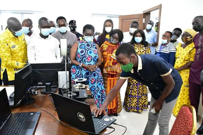 1126202063715-nsjum8x432-a-student-from-the-ghana-robotics-academy-foundation--doing-a-demonstrating-for-mrs-ursula-owusu-ekuful-minister-of-communications-and-other-dignitaries--7
